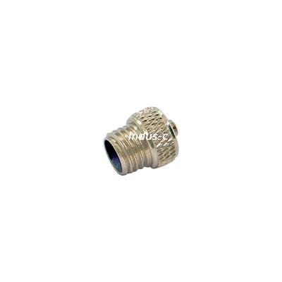 M8 male metal waterproof cap